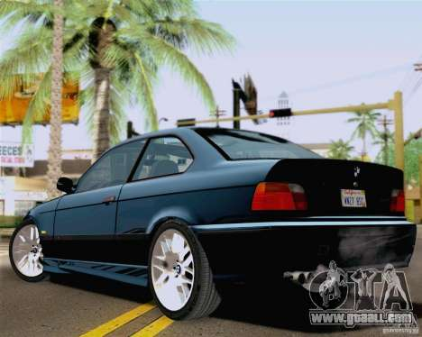 BMW M3 E36 New Wheels for GTA San Andreas left view