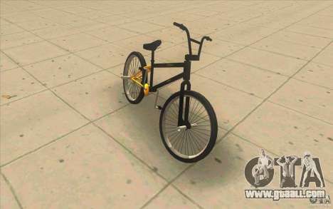 17.5 BMX for GTA San Andreas left view