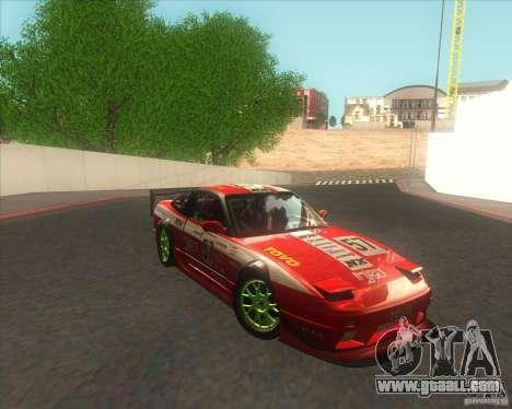 Nissan 240SX for drift for GTA San Andreas