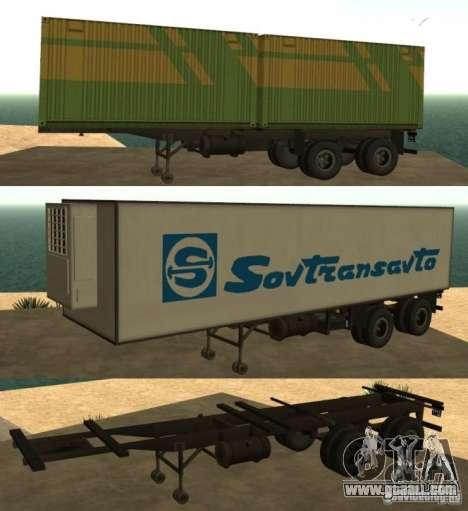 Container Carrier + Sovtransavto for GTA San Andreas