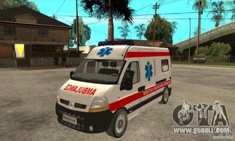 Renault Master Ambulance for GTA San Andreas