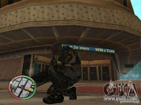 Alien weapons of Crysis 2 for GTA San Andreas third screenshot
