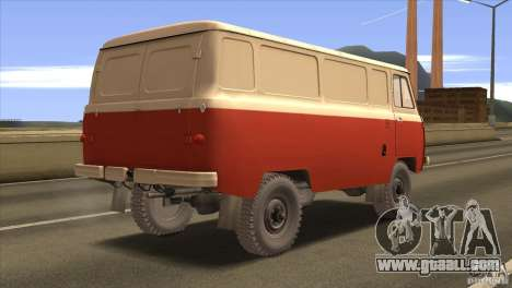 UAZ 450 for GTA San Andreas right view