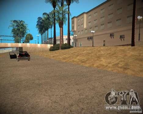 New textures beach of Santa Maria for GTA San Andreas fifth screenshot