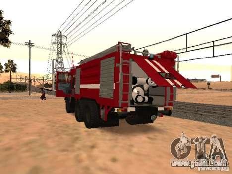 KAMAZ 53229 Firefighter for GTA San Andreas
