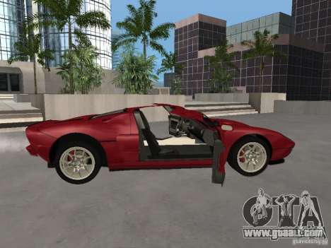 Ford GT for GTA San Andreas side view