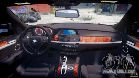 BMW X6M v1.0 for GTA 4 bottom view