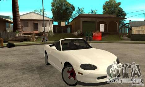 Mazda MX-5 JDM Convertible for GTA San Andreas back view