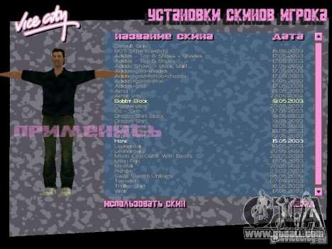 Pack of skins for Tommy for GTA Vice City fifth screenshot