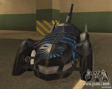Batmobile 1995 for GTA San Andreas left view