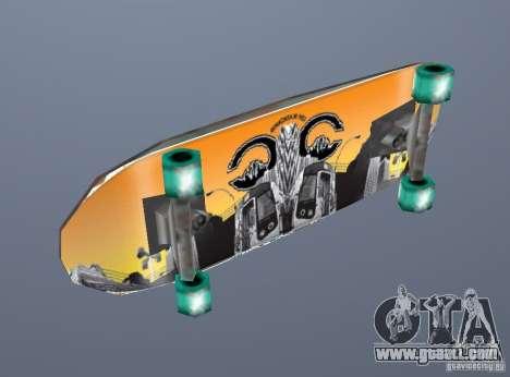 Skateboard Skin 1 for GTA San Andreas