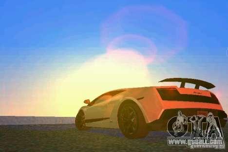 Lamborghini Gallardo LP570 SuperLeggera for GTA Vice City back left view