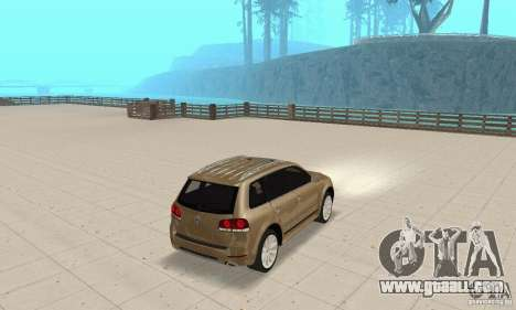 Volkswagen Touareg 2008 for GTA San Andreas left view