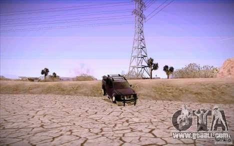 Nissan Fronter for GTA San Andreas interior