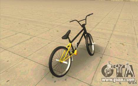 17.5 BMX for GTA San Andreas back left view