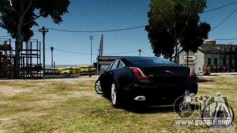 Jaguar XJ 2012 for GTA 4 right view