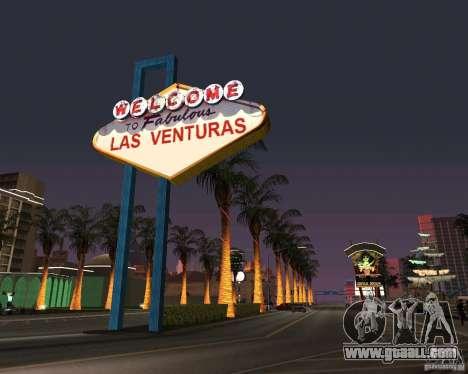 Real New Vegas v1 for GTA San Andreas second screenshot