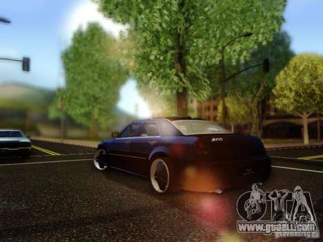 Chrysler 300C VIP for GTA San Andreas back left view