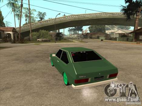 Volkswagen Passat 1.9A for GTA San Andreas back left view