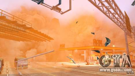 Explosion & Fire Tweak 1.0 for GTA 4 second screenshot