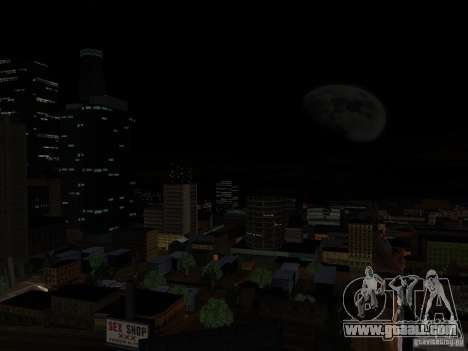Realistic Night Mod for GTA San Andreas second screenshot