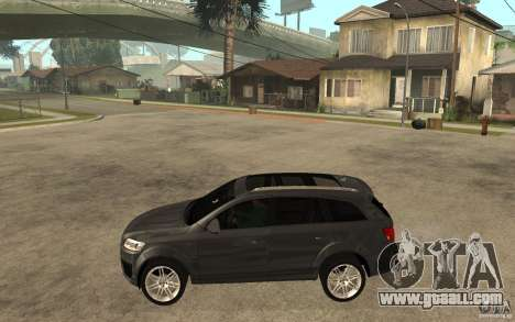 Audi Q7 TDI 2009 for GTA San Andreas