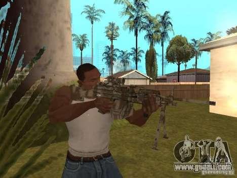 Machine gun MK-48 for GTA San Andreas third screenshot
