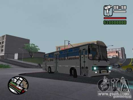 Ikarus 266 City for GTA San Andreas right view