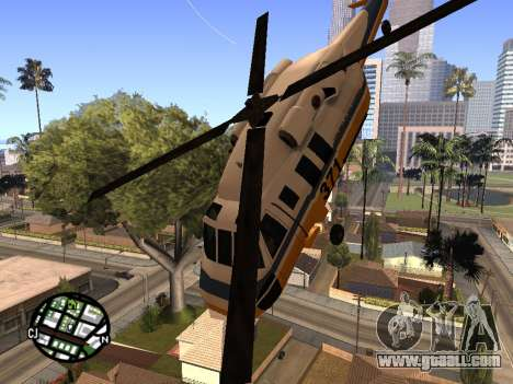 Shooting from a helicopter for GTA San Andreas second screenshot