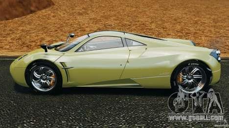 Pagani Huayra 2011 v1.0 [EPM] for GTA 4 left view