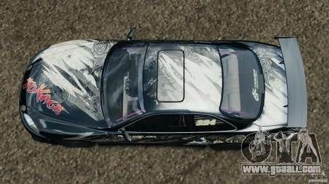 Toyota Soarer Drift for GTA 4 right view