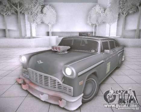 Diablo Cabbie HD for GTA San Andreas
