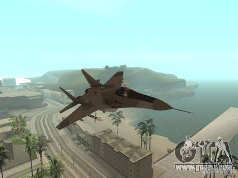 MIG-29 of the COD MW2 for GTA San Andreas
