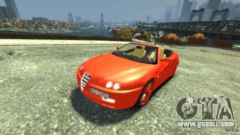 Alfa Romeo GTV Spider for GTA 4