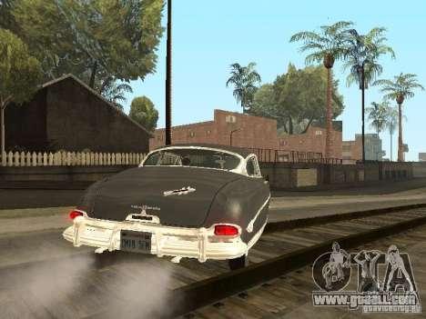 Hudson Hornet 1952 for GTA San Andreas back left view