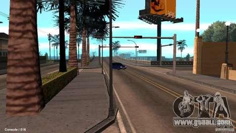 BAZ 21099 for GTA San Andreas back view