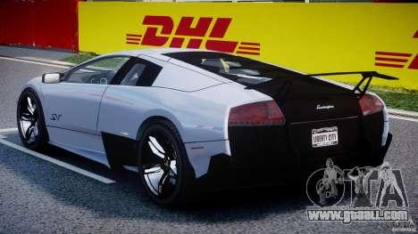 Lamborghini Murcielago LP670-4 SuperVeloce for GTA 4 right view
