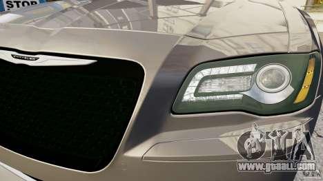 Chrysler 300 SRT8 2012 for GTA 4 back view