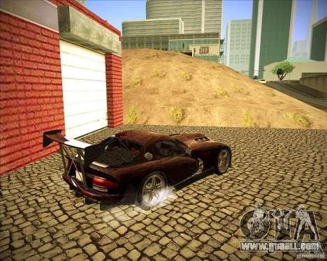 Dodge Viper TT for GTA San Andreas right view