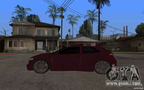 Audi A3 Tuned for GTA San Andreas left view