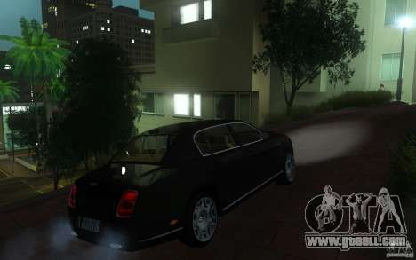 Bentley Continental Flying Spur for GTA San Andreas right view