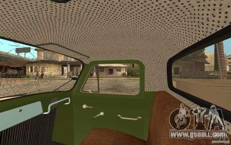Gaz-52 for GTA San Andreas wheels