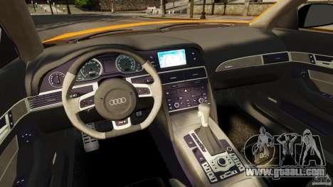 Audi A6 Avant Stanced 2012 v2.0 for GTA 4 back view