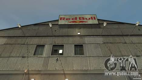 Red Bull Factory for GTA 4 third screenshot