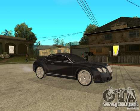Bentley Continental GT for GTA San Andreas right view
