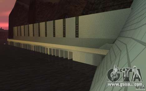 The new dam for GTA San Andreas forth screenshot