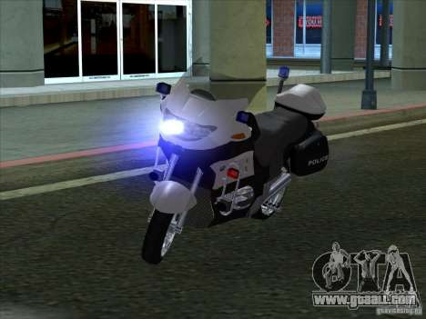 CopBike for GTA San Andreas