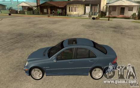 Mercedes-Benz C32 AMG 2003 for GTA San Andreas left view