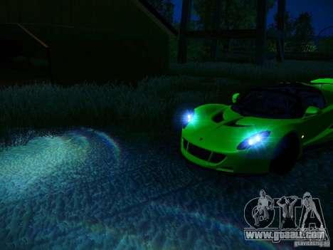 Hennessey Venom GT Spyder for GTA San Andreas wheels
