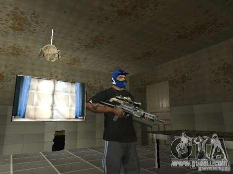 Pp-19 Bizon with optics for GTA San Andreas second screenshot
